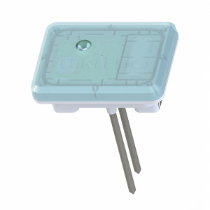 Surface level soil moisture sensor